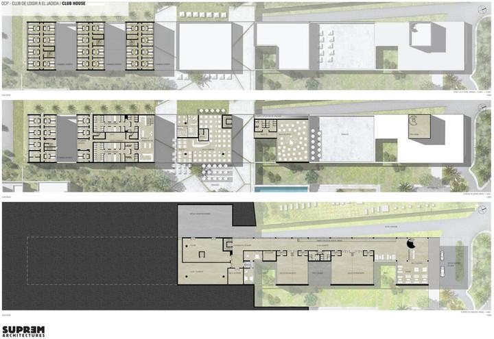 Centre de Loisirs EL JADIDA - Plan