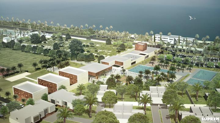 Centre de Loisirs EL JADIDA - Vue aérienne