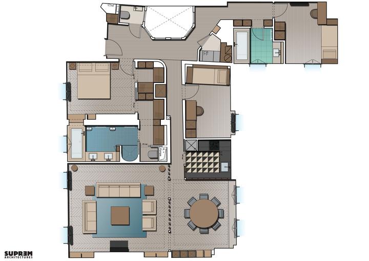 Appartement RIVOLI - Plan