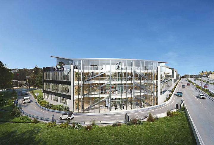 Immeuble de bureaux et laboratoires Totalinux