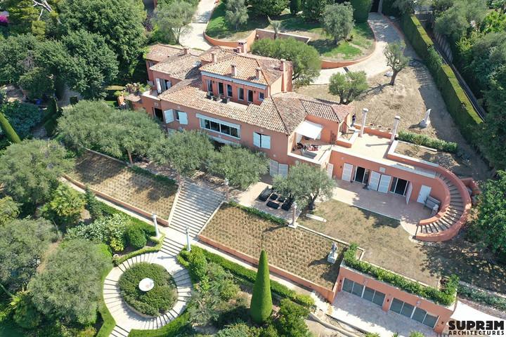 Villa Z - Vue aérienne générale