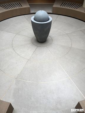 """Spa """"Cinq Mondes"""" MONACO - Sol patio"""