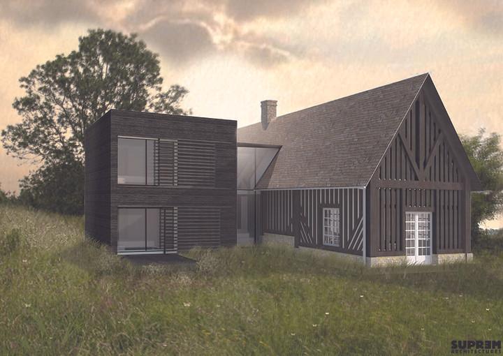 Maison MOULIN - Perspective projet