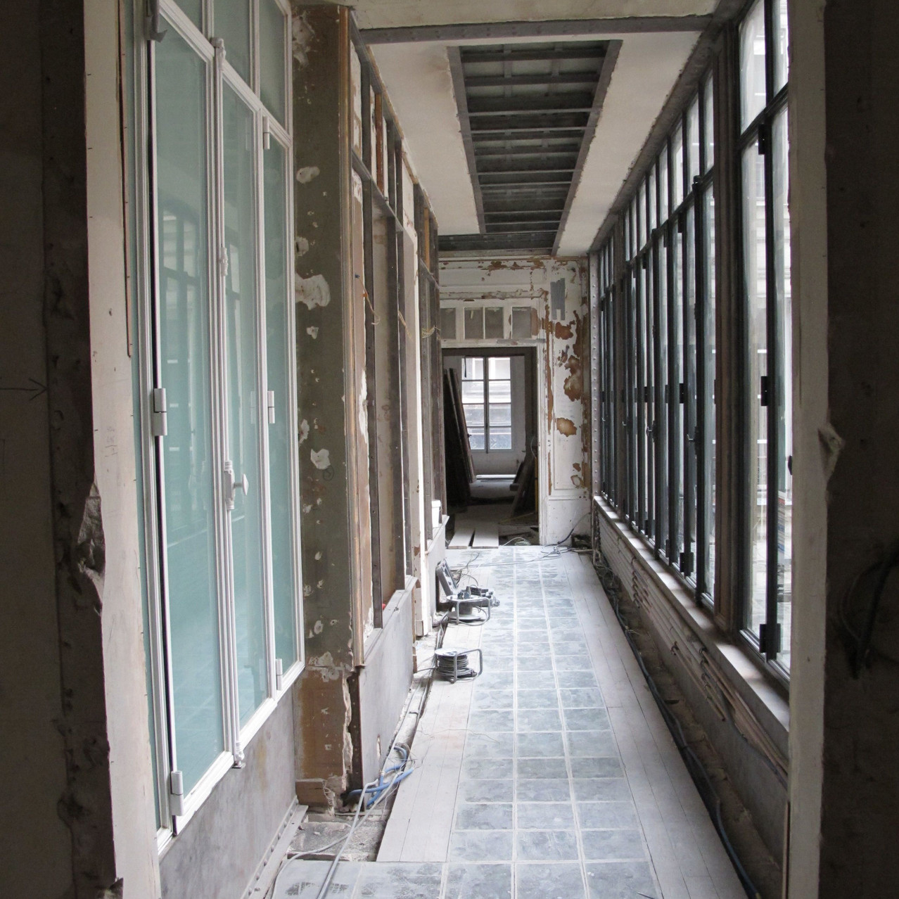 Appartement BB - Galerie en travaux