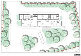 Hôtel B&B Villepinte - Plan rez-de-chaussée