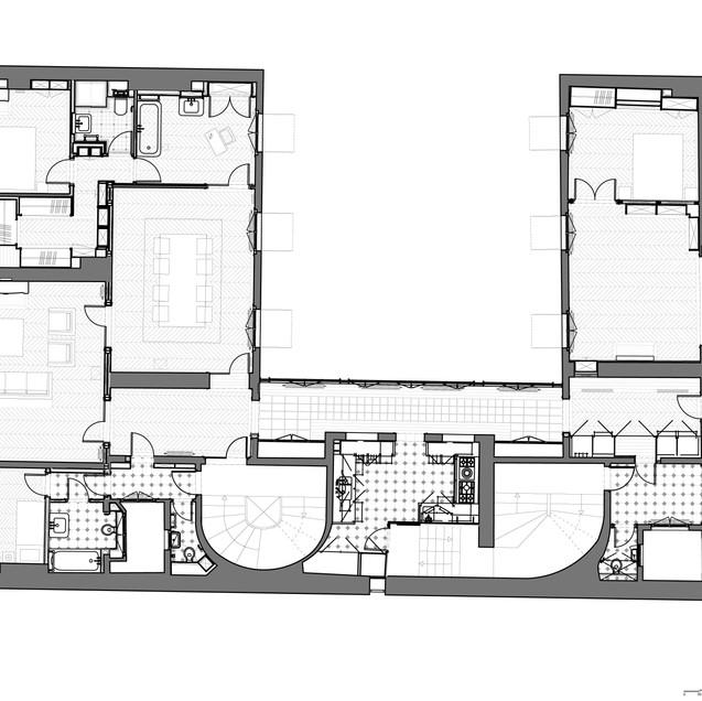 Appartement BB - Plan