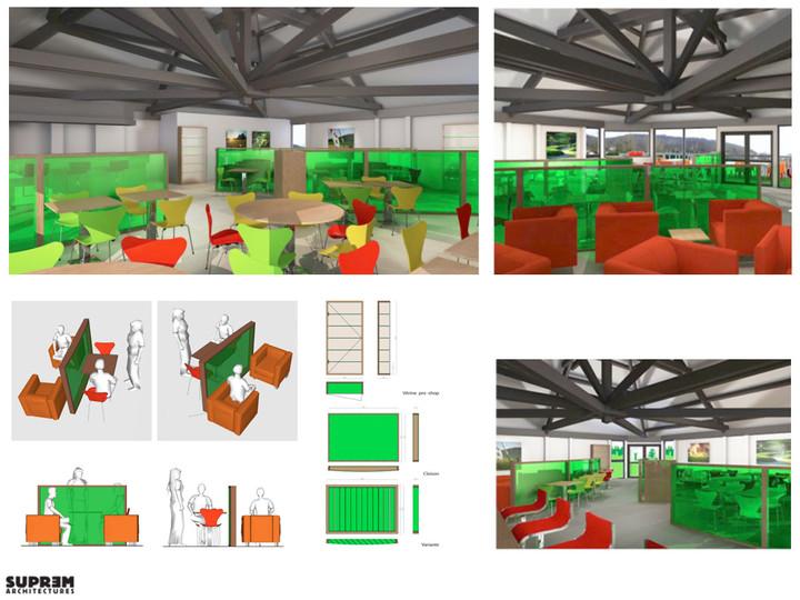 Concept Club House - Planche concept