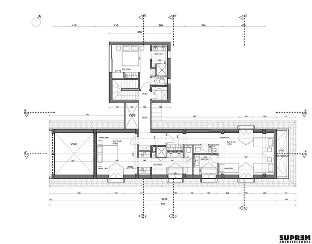 Maison MOULIN - Plan étage