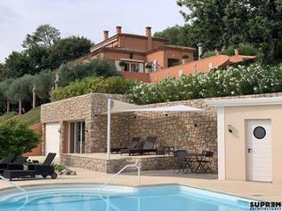 Villa Z - Vue terrasse piscine