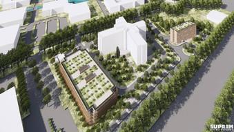 Hôtel B&B Villepinte - Vue aérienne parking