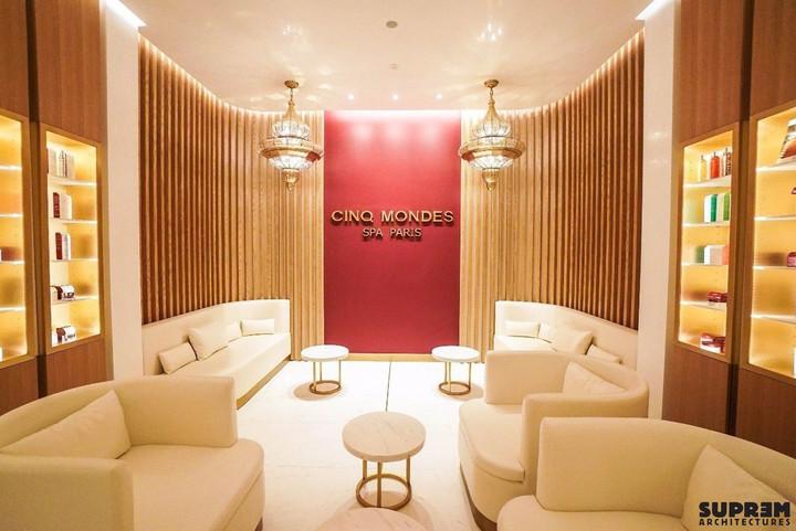 """Spa """"Cinq Mondes"""" DUBAÏ - Lounge"""