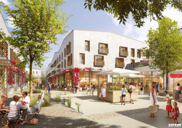 """Centre commercial """"La Pépinière"""" - Marché"""