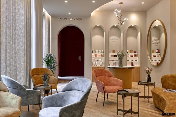 Spa Cinq Mondes Samaritaine - Lounge