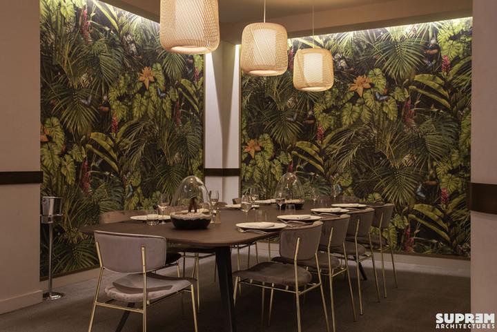 """Restaurant """"L'Alchimiste"""" Hôtel Golden Tulip**** - Table d'hôte"""