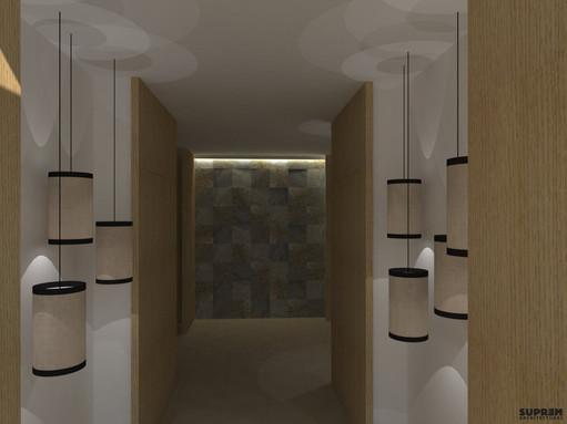 """Spa """"Cinq Mondes"""" MONACO - 3D Circulation"""