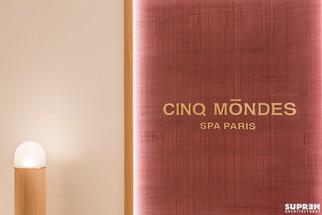 """Spa """"Cinq Mondes"""" LAUSANNE - Détail réception"""