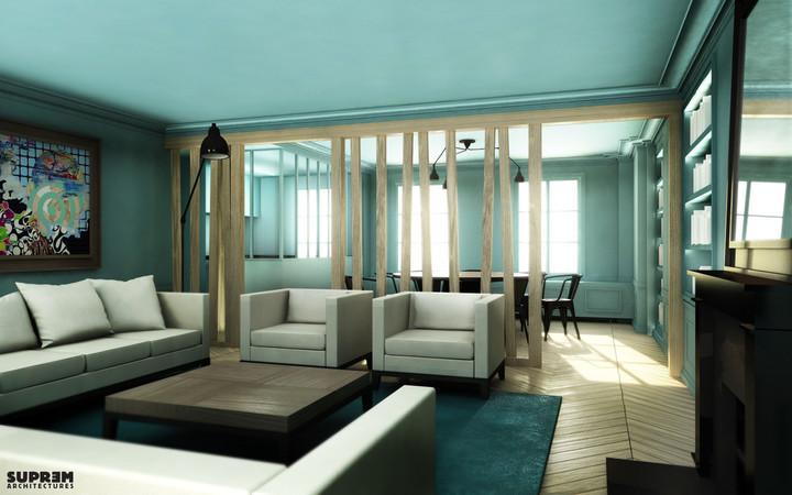 Appartement RIVOLI - Salon