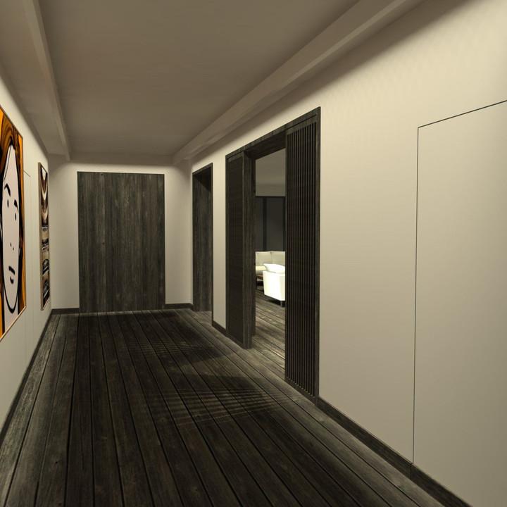 Appartement PS - 3D Entrée