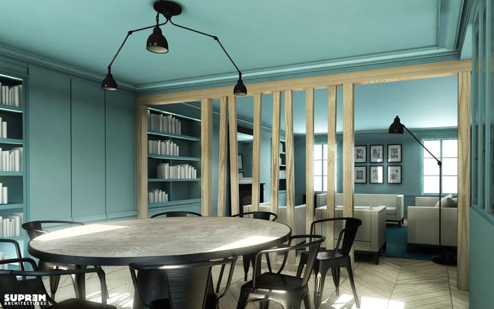 Appartement RIVOLI - Salle à manger