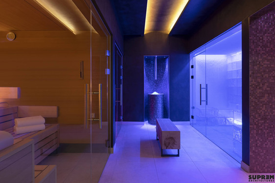 "Spa ""Cinq Mondes"" LAUSANNE - Heat & Water Experience"