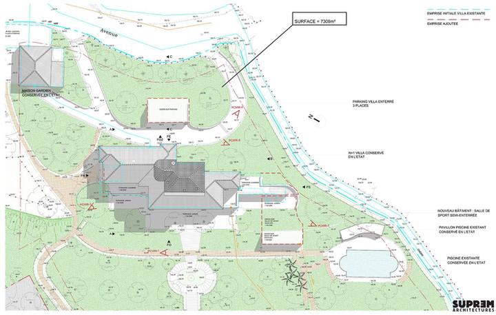Villa Z - Plan masse