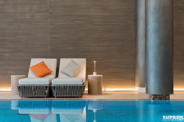 """Spa """"Cinq Mondes"""" LAUSANNE - Mobilier piscine"""