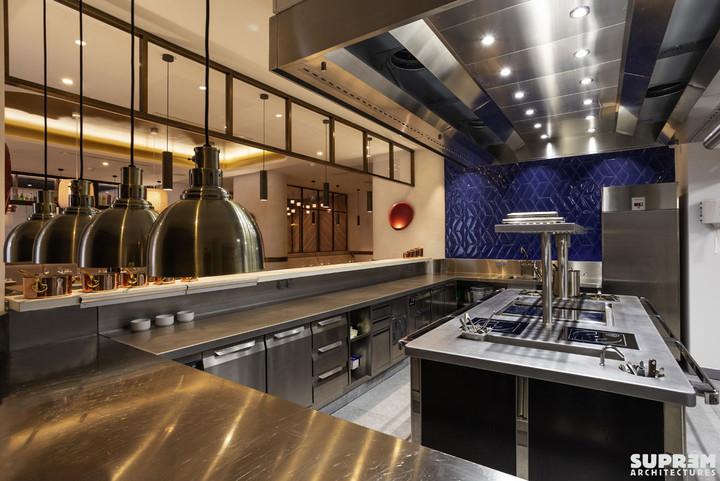 "Restaurant ""L'Alchimiste"" Hôtel Golden Tulip**** - Cuisine ouverte"