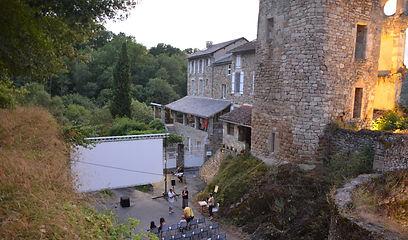Cinéma au château de Saint-Martin-Laguépie