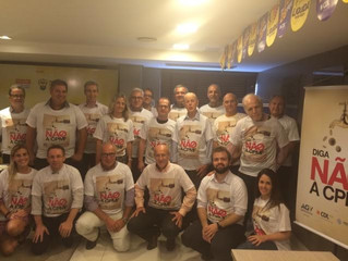 Campanha contra a volta da CPMF é lançada pela AGV, CDL POA e Federasul