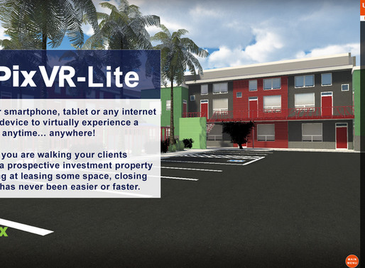 PIX VR-LITE DELIVERS THE POWER OF VIRTUAL REALITY ON MOBILE DEVICES