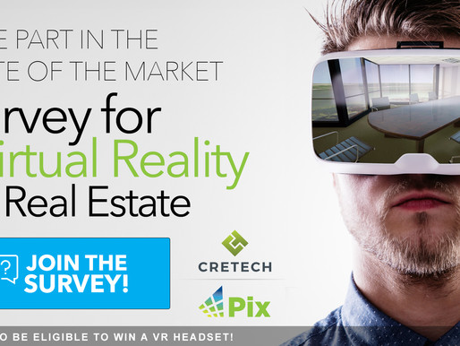 Pix, CREtech Partner for Groundbreaking Virtual Reality Survey