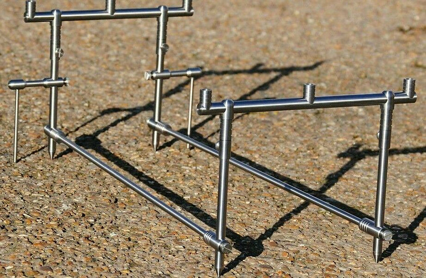 Top-Notch Tackle - Stainless Steel Three Rod Pod