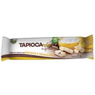 BARRA DE TAPIOCA BANANA E CHOCOLATE 17G
