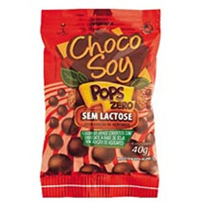 CHOCOLATE SEM LACTOSE CHOCOSOY POPS 40G