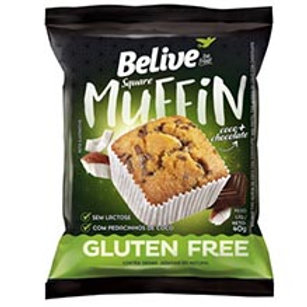 MUFFIN BELIVE COCO CHOCOLATE 40G