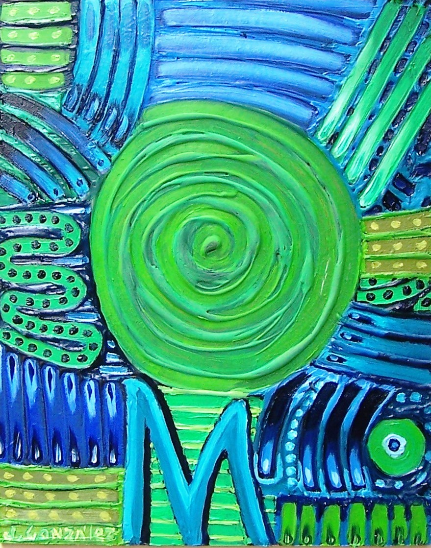 Abstracto con M