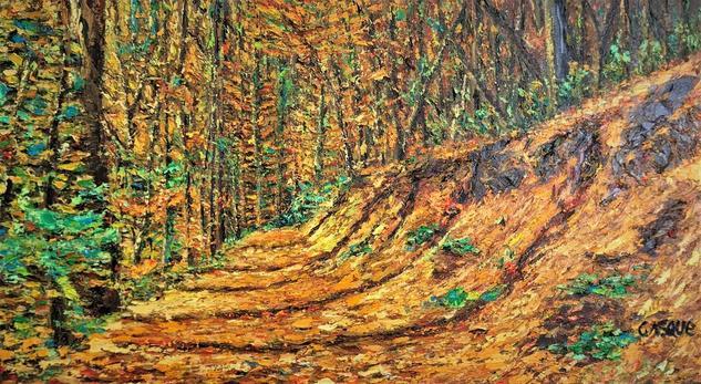 camino al bosque