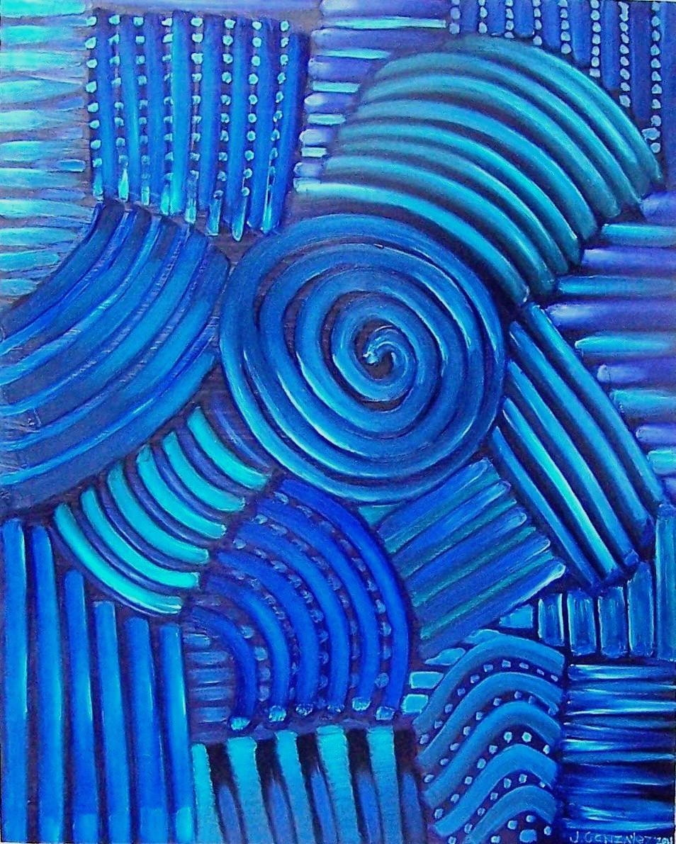 Entre azul y buenas noches II