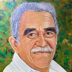 Retrato de Gabriel García Marquez