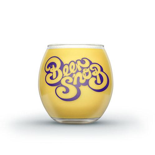 Beer Snob Glass Tumbler