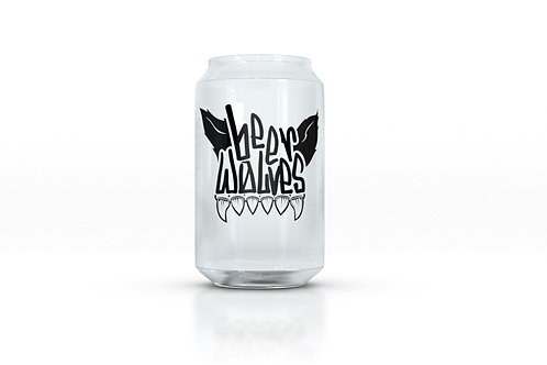 Beer Wolves Flagship Can Glass