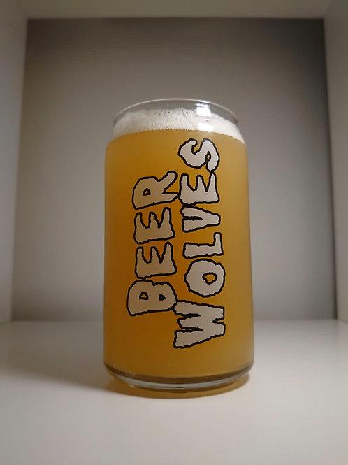 Beer Wolves Flagship Misfits Glass