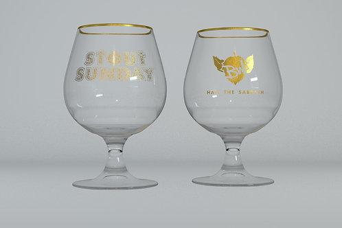 Stout Sunday glass