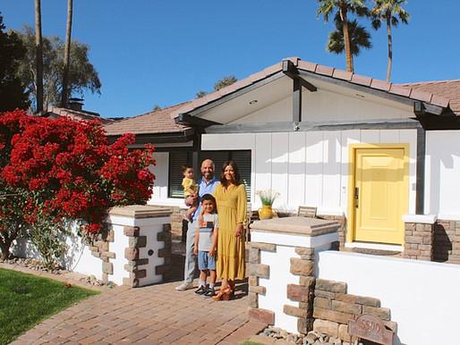 Kristina Guerrero's Golden Uptown Home