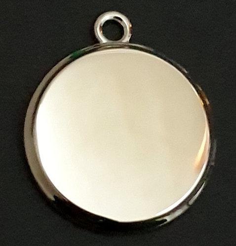 עגול תלת ממדי (קטן) - רודיום
