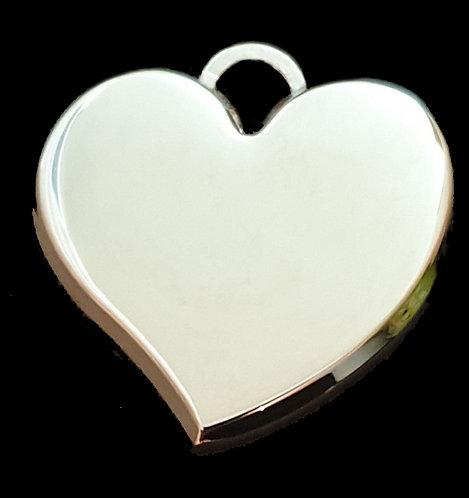 לב תלת מימדי מחודד - רודיום