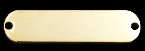 תגית שם (גדול) - רודיום - צבע זהב