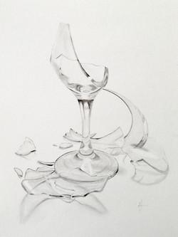 Trasigt glas