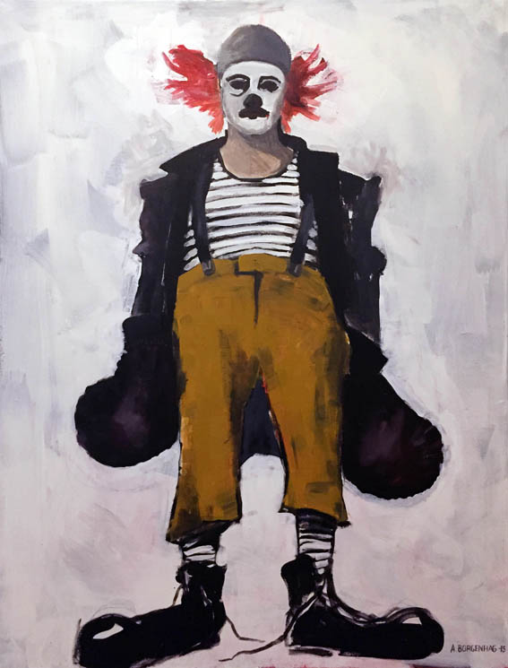 Clown - SÅLD