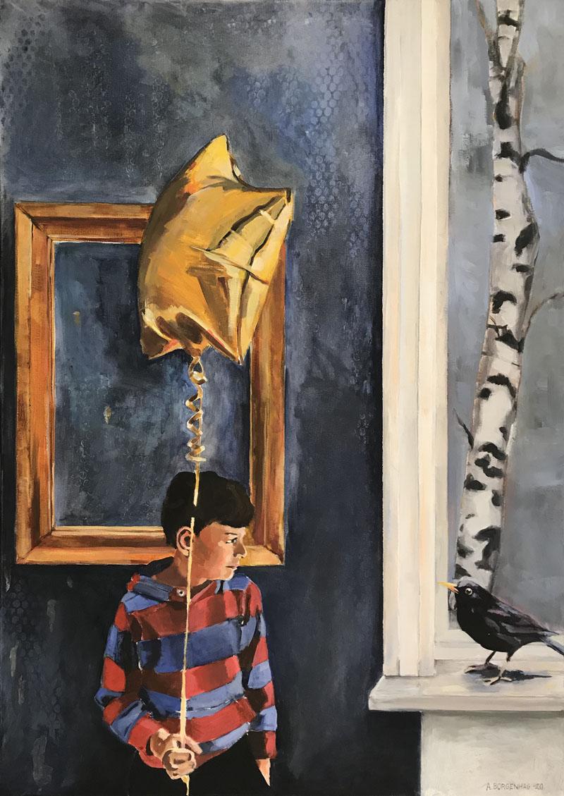 Guldballong - SÅLD